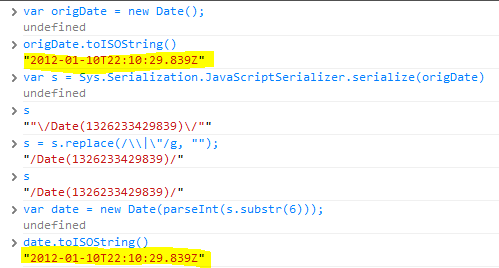 iso date formatter
