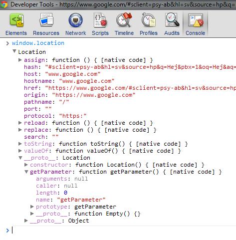 Get url parameters with javascript | CHUVASH eu