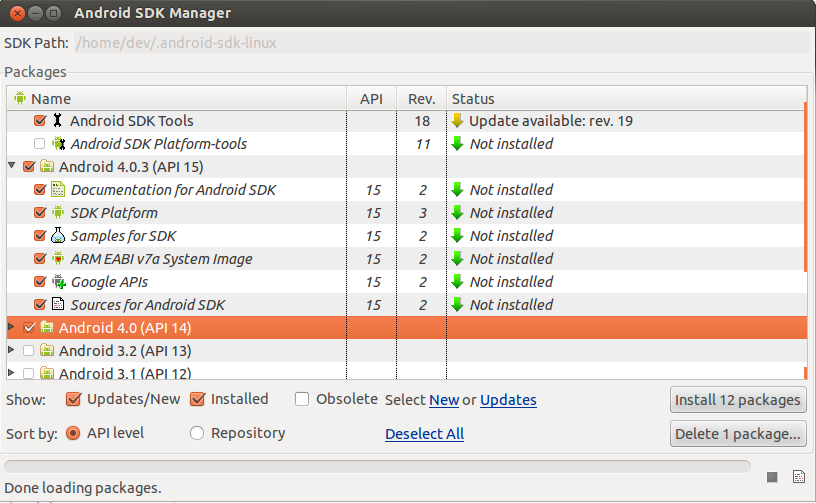 Install android sdk and eclipse in Ubuntu 12 04 | CHUVASH eu