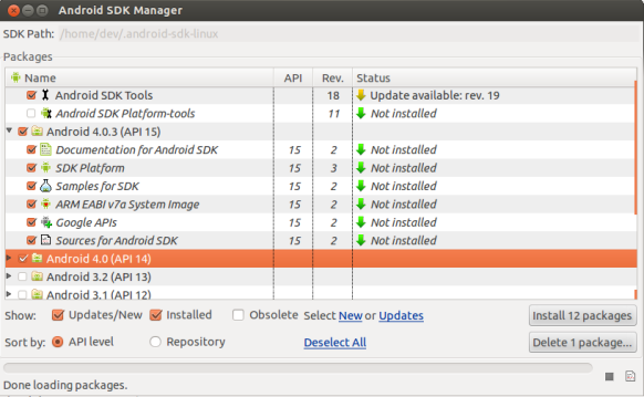 Install android sdk and eclipse in Ubuntu 12 04 | CHUVASH eu
