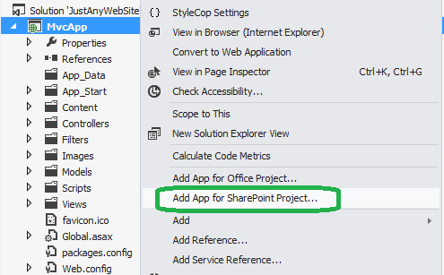 Convert any web app to a SharePoint app - Bool Tech